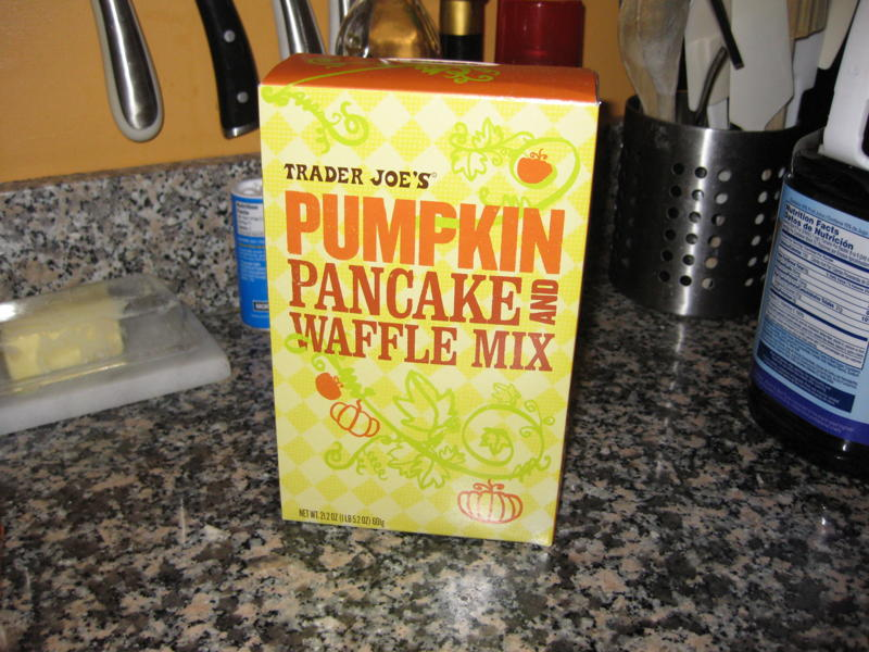 Trader Joe's Pumpkin Pancake and Waffle Mix