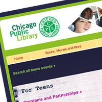 Chicago Public Library Website